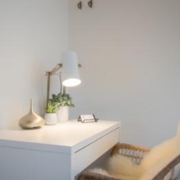 Porta Superia Suite Lady Margareta desk